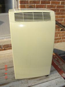 Delonghi NF100 10,000 BTU Portable Air Conditioner NO Remote