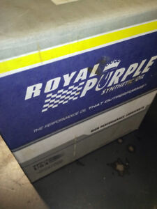 *** Royal Purple 15W40 Full Synthetic Engine Oil 6 liters****