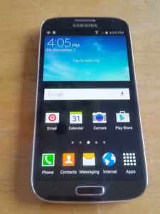 Mint condition Samsung Galaxy S4 phone