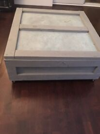 Pallet Shipping container Coffee Table