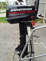 5 hp (Sears) Gamefisher Outboard