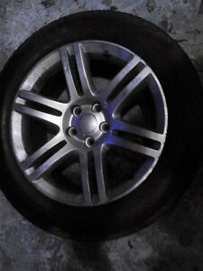 4 x rims off a 2014 dodge charger sxt never used in winter