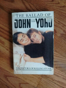 The Ballad of John and Yoko by The Editors of Rolling Stone Cambridge Kitchener Area image 1