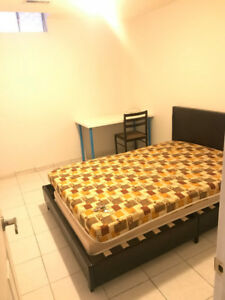 near utm house has basement room for rent by Chinese girl only