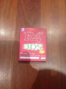 New 3DS R4 RTS Card With 15 Preloaded Games!