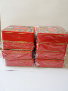 8 Christmas Empty Container, Crabtree & Evelyn London, New