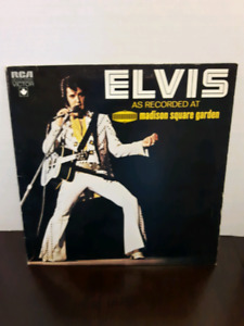 3 Old Elvis Presley Records