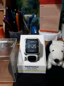 """JUST REDUCED"" TOM TOM GOLF GPS WATCH"