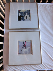 Pictures with frame