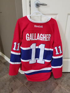 NEW Brendan Gallagher Montreal Canadiens Medium Jersey