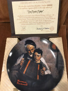 Norman Rockwell 16 Collector Plates (Bradford Exchange)