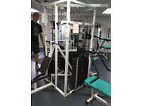 Professional 5 station multi gym and other equipment