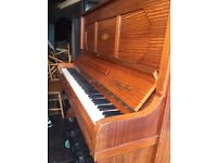 LARGE UPRIGHT PIANO - VERY CHEAP