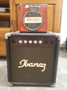 Ibanez IBZ 10A Acoustic guitar amplifier with Dean Marley pro se