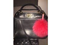 Women Fendi black handbag