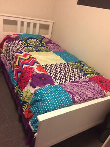 IKEA SINGLE BED & MATTRESS FOR SALE
