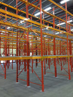 WE BUY YOUR USED PALLET RACKING