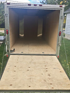 NEW 2016 7x14 Enclosed Trailer w Ramp Kitchener / Waterloo Kitchener Area image 3