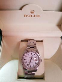 Rolex15210 genuine. Unisex.Serviced by rolex. May exchange.