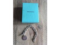 Genuine Return to Tiffany sterling silver bracelet