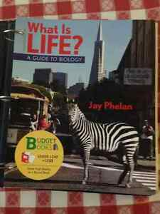 What is Life:A Guide to Biology,with prep-u,Concordia textbook. West Island Greater Montréal image 1