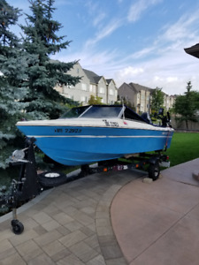 THUNDERCRAFT BOAT fishing mercury engine