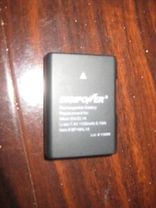 Digipower Replacement Battery for Nikon D3100, D3200, D5100