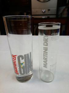Beefeater Gin & Martini Dry Glasses