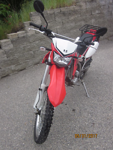 2009 KLX250s  and Honda VFR750 for sale
