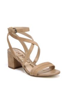 **New**Sammy Strappy Suede Sandals-Golden Caramel-Size-9