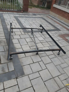 Steel BED FRAME adjustable single twin (double) queen (full) $25
