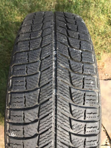 MICHELIN XI3 SNOW TIRES WITH RIMS