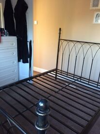 Double bed frame £60