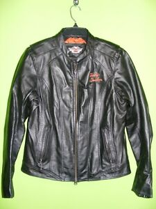 Ladies - Harley Davidson Leather Jacket - Large at RE-GEAR