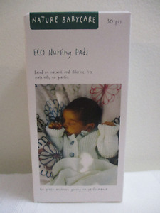 Nature Babycare Eco Nursing Pads New in Box - Set of 30