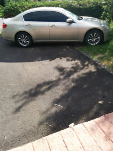 2007 infiniti g35x all wheel drive obo