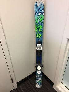 Boys 8-12 yrs old skis boots and bindings