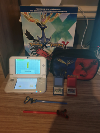 'New' Nintendo 3DS XL Pokemon XY Bundle