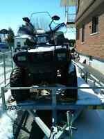Sportsman 700 2004 moteur bruler