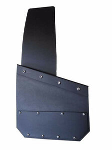 Universal Black Mud Flaps- powder coated  marine aluminum Regina Regina Area image 8