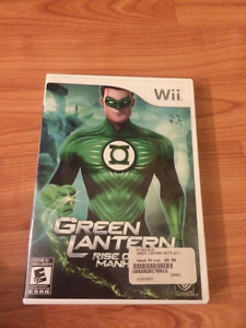GREEN LANTERN RISE OF THE MANHUNTERS FOR NINTENDO WII