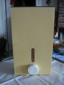 LARGE THICK MOLDED WALL-HANGING LAUNDRY SOAP DISPENSER