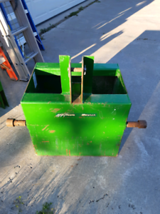 John deere ballast box