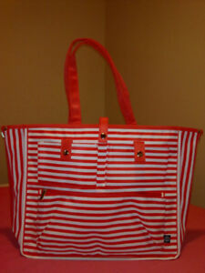 Stylish summer beach tote bag (two in one)