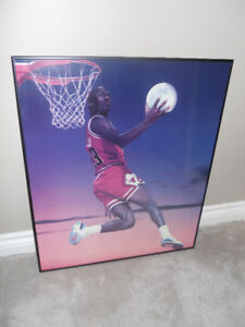 Wall Picture - Moon Dunk - Michael Jordan