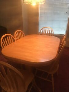 Dining Table With China Cabinet Edmonton Edmonton Area image 1