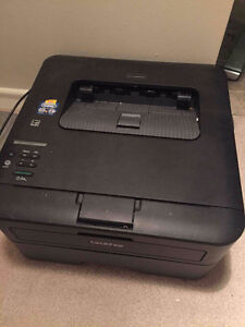 Printer with ink, plus paper