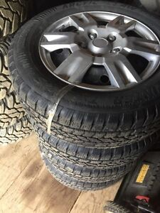 Arctic Claw winter tires and rims