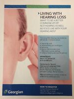 Living With Hearing Loss Workshop