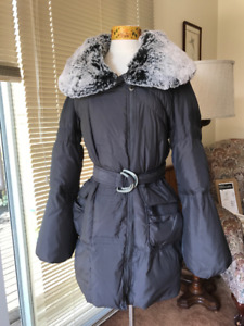 Betsey Johnson Real Down Puffer Coat